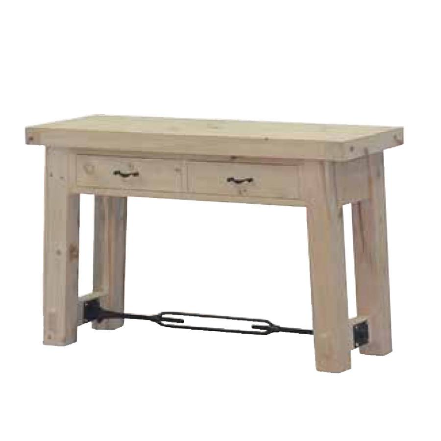 broklyn solid wood sofa table