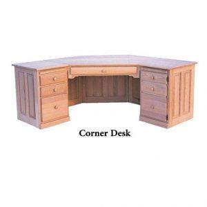 solid wood Country Corner Desk01