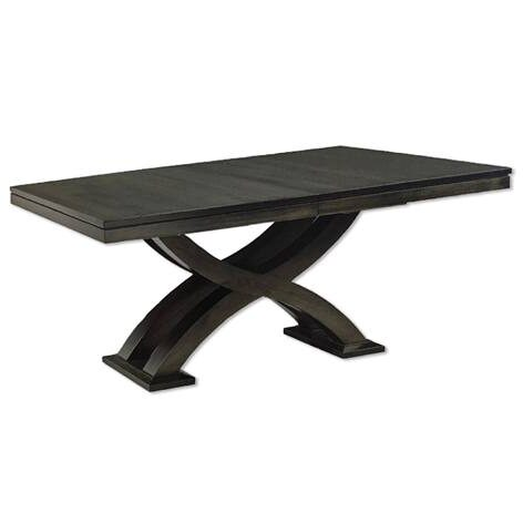 Empire solid wood table.-001