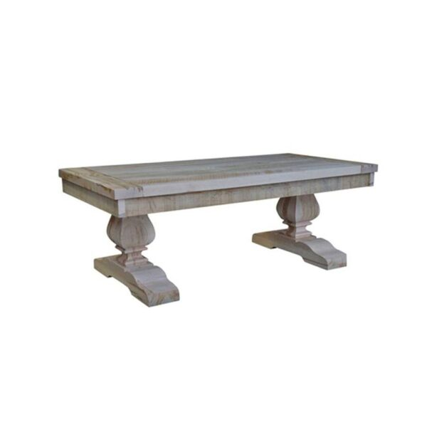 empress solid wood coffee table