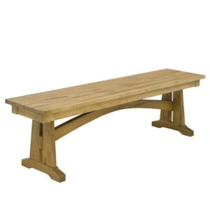 Golden Gate handcrafted Solid Wood Bench