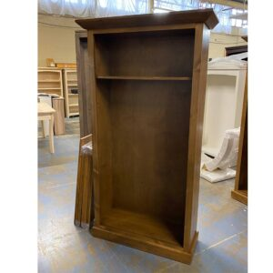 handcrafted solid wood bookcase