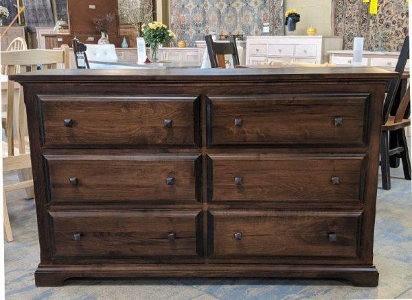 Hockley solid wood bedroom set-dresser-03