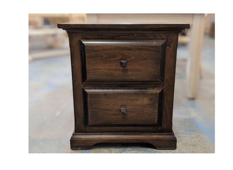 Hockley solid wood bedroom set-nightstand-05