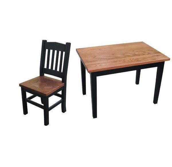 kid's playmate-kid's chair-kid's tablesolid wood