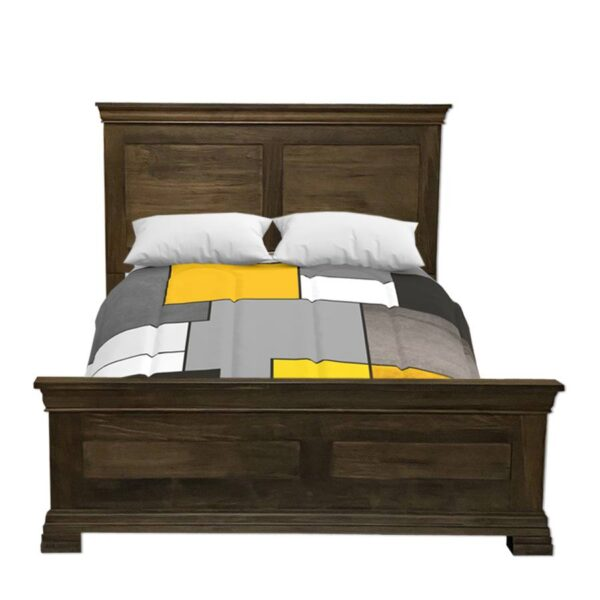 Solid wood storage bed-Manhattan bed-02