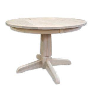 Marco Solid Wood Round Table-handcrafted