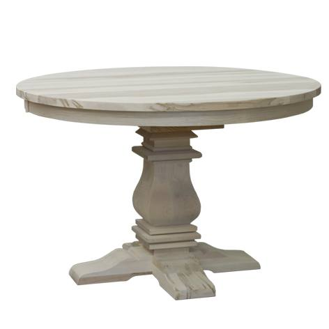 Mediterranean handcrafted table-solid wood-01