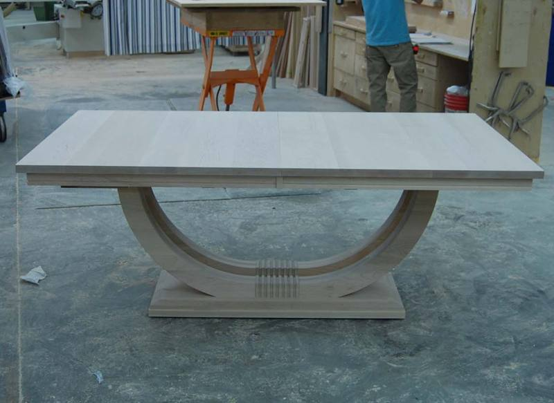 Metro dining table-solid wood handcarfted-02