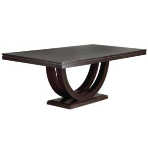 metro dining table-solid wood handcrafted001