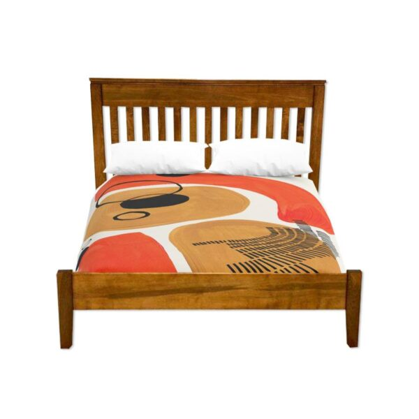 mission solid wood bed-handcrafted-01