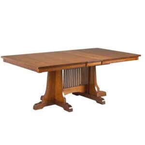 Moriss solid wood dining table-handcrated-01