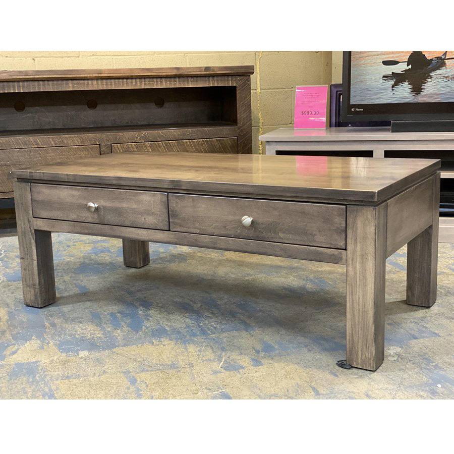 Newport solid wood coffee table-001