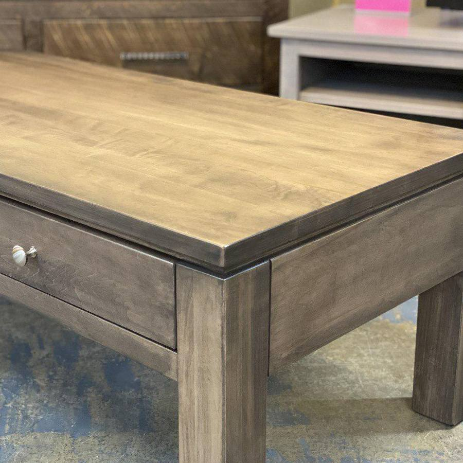 Newport solid wood coffee table-002
