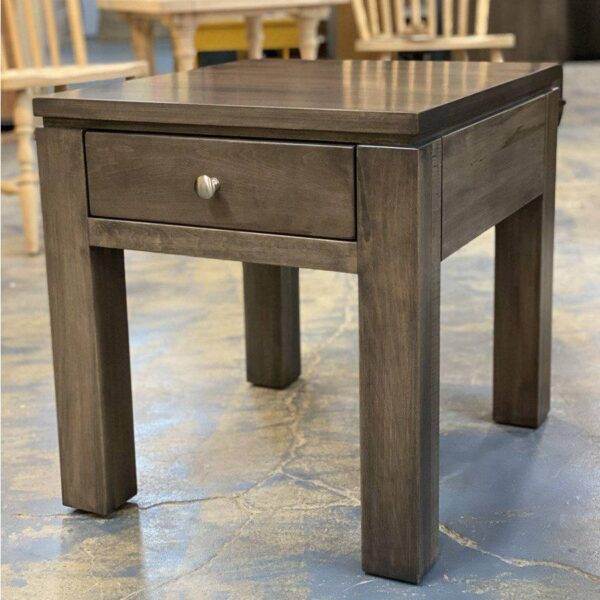 Newport solid wood end table