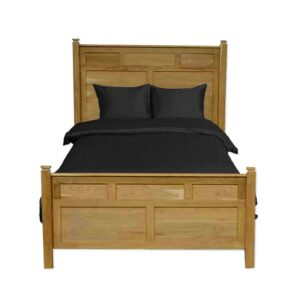 solid wood-Newport modern bed-02