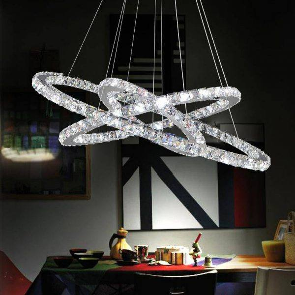 Ring LED chandelier-light