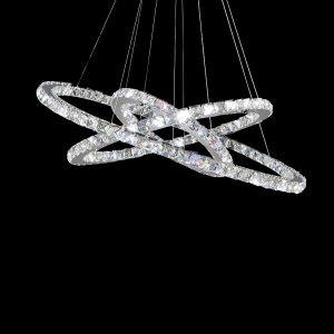 Ring LED chandelier-light