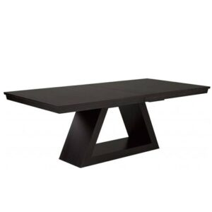 Shard solid wood dining table in toronto-handcrafted
