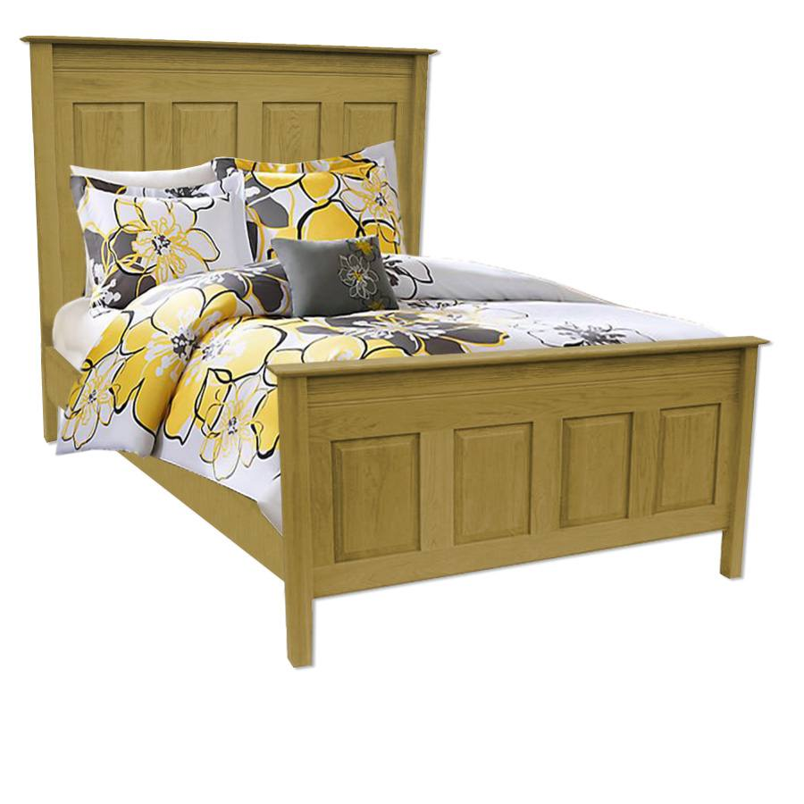 Rivival solid wood bed-handcrafted-01