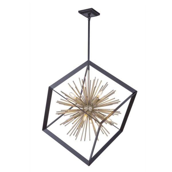 Sunburst chandelier-01