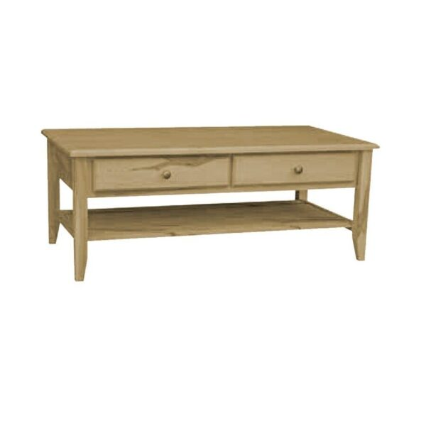 Thornbury solid wood coffee table01