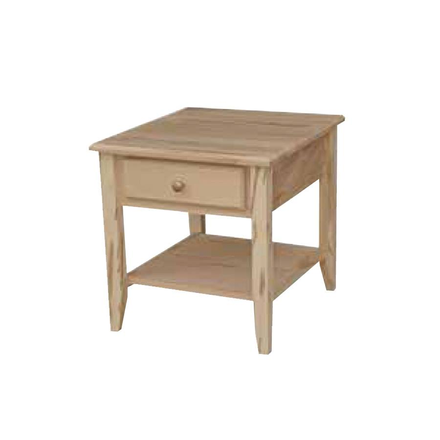 Thornbury solid wood end table-01