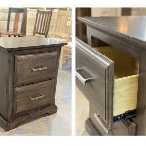 Hockley solid wood bedroom set-nightstand-04
