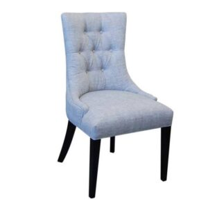 Accent Upholstery Chair -solid wood handcrafted