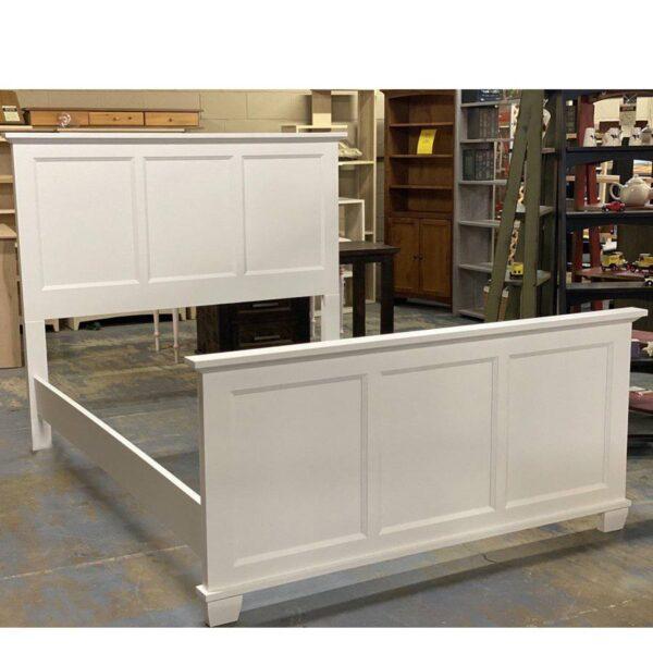 Algonquin Solid Wood Bed - storage bed-01