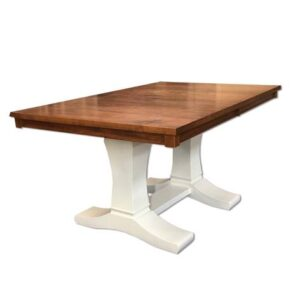 contempo dining table-unfinished-solid wood handcrafted-01