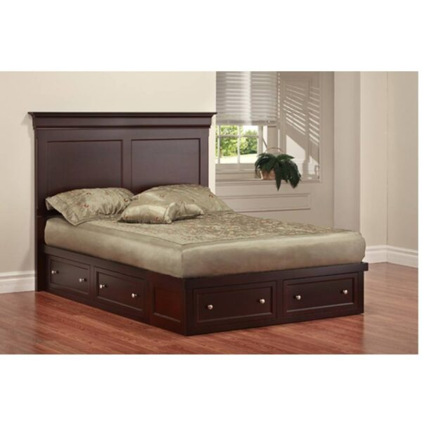 Phillipe Solid Wood Bed-storage bed-02