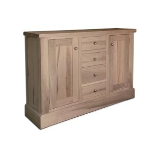 solid wood brentwood buffet and hutch-02