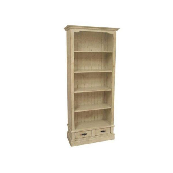 solid wood Genevieve Bookcase-01