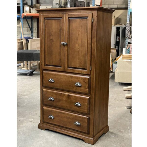 Hockley solid wood armoire, wardrobe,handcrafted,-02