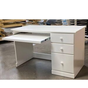 solid wood country computer desk-02