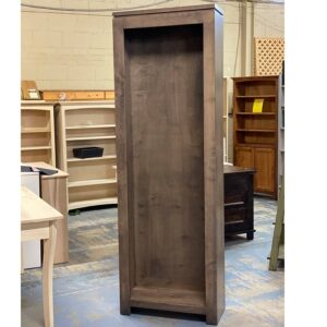 solid wood handcrafted newport modern bookcase-01