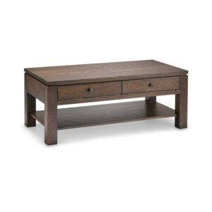 solid wood newport modern coffee table