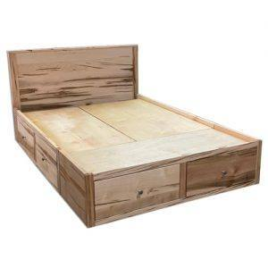 Marco storage Bed-solid wood-handcrafted