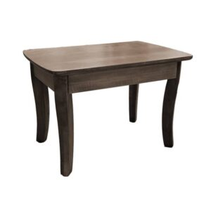 French curve leg coffee table-solid wood01