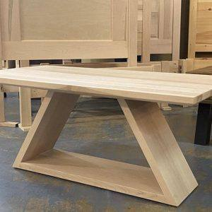 Shard solid wood coffee table-002