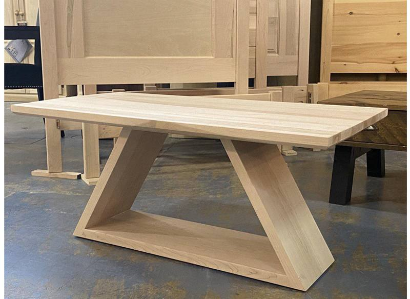 Shard solid wood coffee table-002