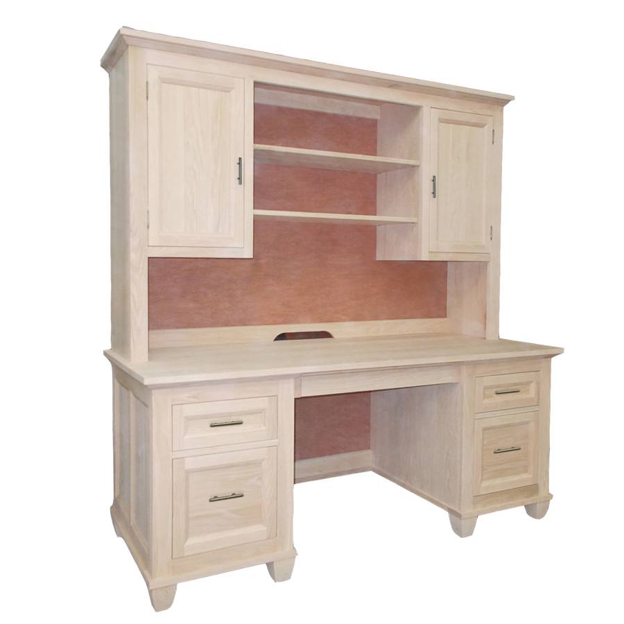 solid wood Algonquin Executive Desk-02