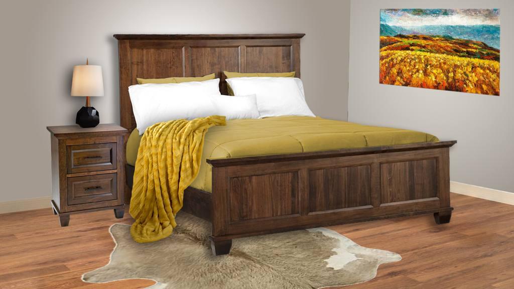solid wood bedroom set furniture