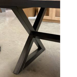 Modern X-Base Table-solid wood-handcrafted-03
