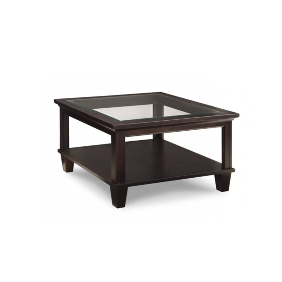 Solid wood glass top georgetown coffee table-01