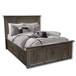 Algonquin solid wood storage bed-01