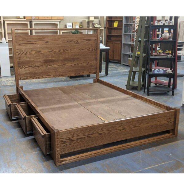 Metara Solid Wood Storage Bed-02