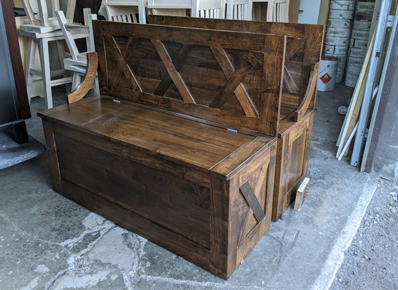 custom bench-solid wood-1