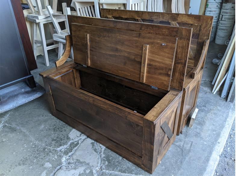 custom bench-solid wood-2